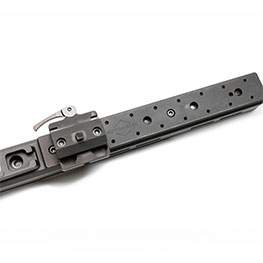 Automatic ARCA Clamp + M-Lock Bipod Mount Combo (for Harris style bipods)